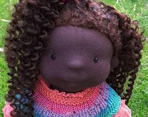 waldorfdoll, Abigail artdoll, 50 cm