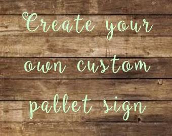 Family Custom Sign