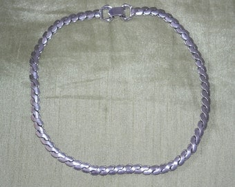Vintage Silver Tone Chain