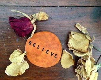 Believe Worry Stone