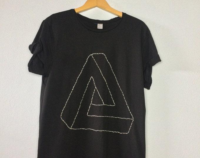 Penrose Triangle (Tshirt bestickt)