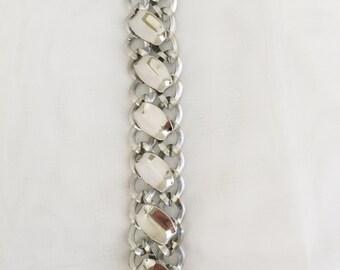 Chain Silver Linked Bracelet