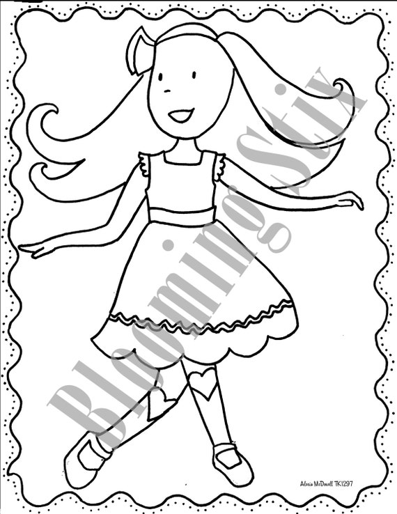 matilda jane themed coloring packet r1 and r2