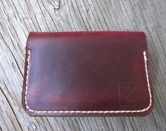 Burgundy Chromexcel Cardholder