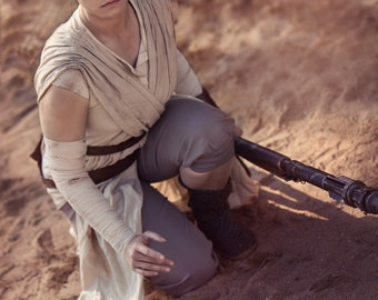 Replica Rey's Staff from The Force Awakens - Star Wars episode VII