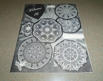 Elizabeth Hiddleson Vol. 16 Doilies Crochet Originals with and without beading