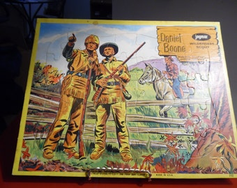 Neat 1950s Daniel Boone Puzzle