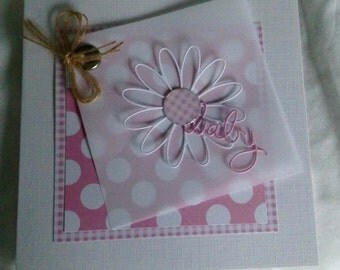 Pretty Baby Girl Card