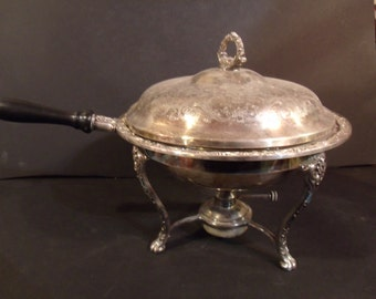 Silver Plated Chafer Dish, 1950's
