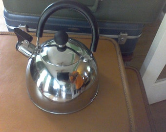 Tea kettle,water kettle, tea pot, kitchen, serving, chrome kettle