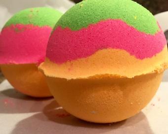 Satsuma Guava Bath Bomb|Bath Fizzy|7.5-8 Ounces