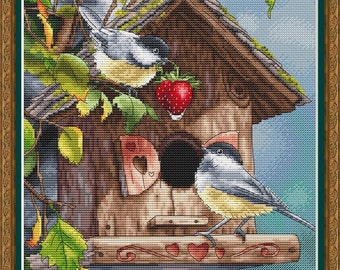 Cross Stitch Pattern PDF, canvas, embroidery, pattern, feathers, embroidered picture, Counted Cross stitch, needlework, Decor,