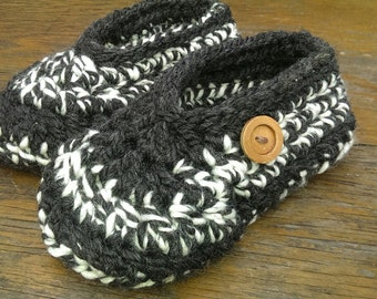 Chunky Crochet Slipper Pattern