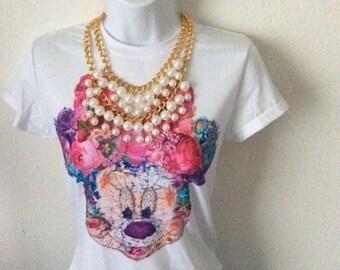 Disney Minnie mouse fashion t-shirt