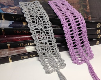 Instant download - Crochet PATTERN (pdf file) – Bookmark Heirloom Collection 1 -  Pattern and Tutorial