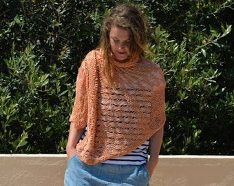 Shawl with sequins