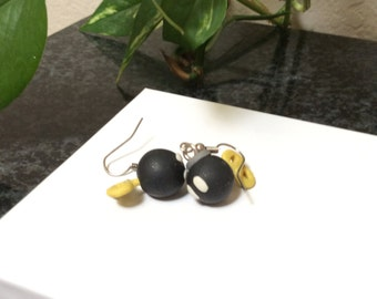 Mario Bob-omb Earrings