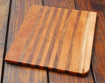 NEW* Cherry + Walnut cutting board