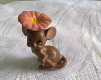 vintage josef original ceramic mouse figurine