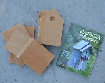 Wood Birdhouse Kit & DIY Book How to Build Birdhouses, Handmade Birdhouses and Feeders by Michele McKee-Orsini, Item #273138314