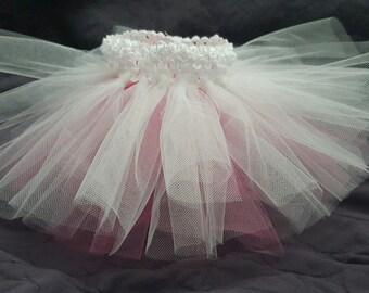 Hot Pink and White Tutu