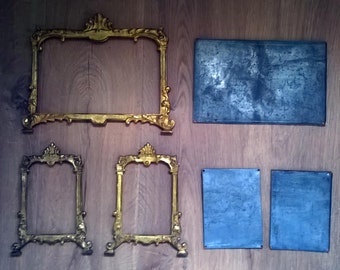 "Frames ""cartagloria"" Golden brass"