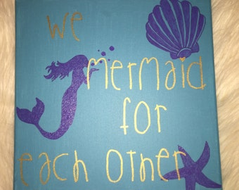 We MERMAID for each other canvas