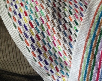 Stained Glass Window Blanket Pattern