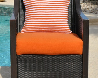 CushyChic Outdoors Slipcovers for Seat Bottom and Pillow Back