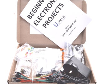 Beginners  Electronic Starter Kit  including projects and components