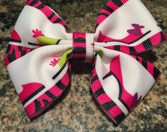 Hair Bow: Girls' Best Friend bow