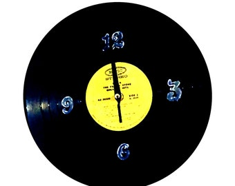 Retro Vinyl Record Wall Clock