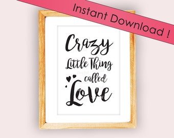 "Displays ""Crazy Little Thing Called Love"" to download"
