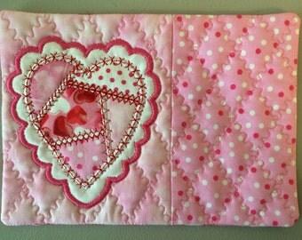Valentine Mug Rug (Coaster)