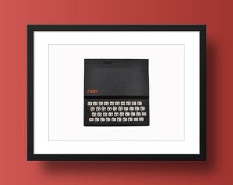 Sinclair ZX81 Poster Print