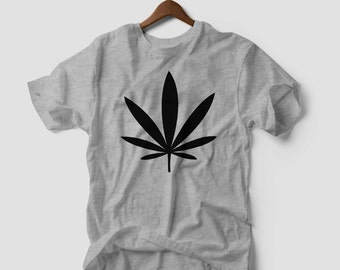 Cannabis weed flower rap hip hop music gift band white t-shirt TUMBLR DRUGS