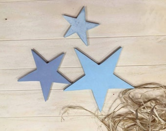 Star wooden wall
