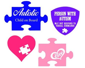 Autism Decals Etsy