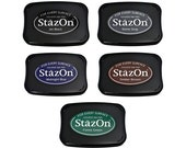 Add a StazOn ink pad to your stamp order