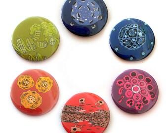 Six biology magnets
