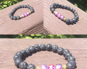 Infinity beaded bracelet