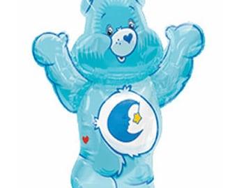 FAST SHIP Care Bears Bed Time Super Shape Birthday Balloons, Care Bears Party Balloons, Care Bears Foil Balloon, Care Bears Party Supplies