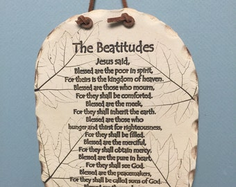 The beatitudes, the beatitudes in clay, matthew chapter 5