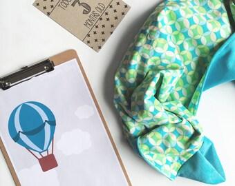 Baby Blanket (Geo Spot) - Bunny rug, Stroller blanket, baby bedding, Car blanket, Baby gift,