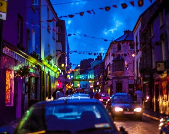Photography, Galway Night, Ireland, Galway, lights, night