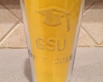 Graduation Glassware