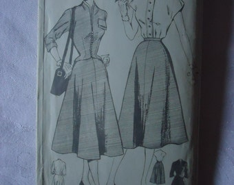 1940's Jacket, skirt and blouse Pattern