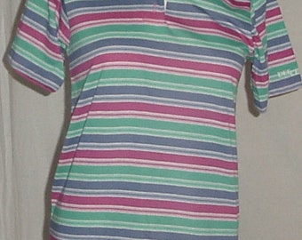 Vintage polo shirt by Dee Cee womens M