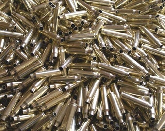 223/5.56 Once Fired Brass 200 + Pieces. This brass is great for reloading, jewelry making and other crafts.
