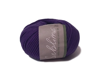 Yarn Destash - Sublime Extra Fine Merino Wool DK 139 Blazer